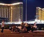 El tiroteo en Las Vegas es considerado el más mortífero de la historia moderna de EEUU. Foto: David Becker / AFP