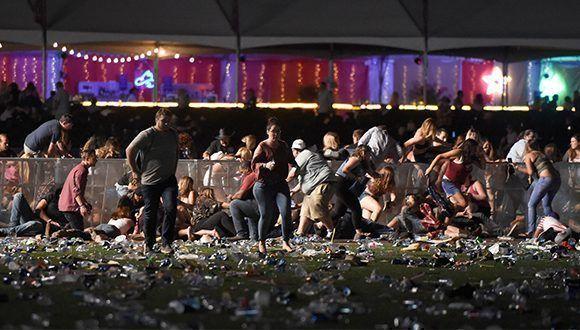 Por el momento se reportan 58 fallecidos y 515 heridos. Foto: David Becker / AFP