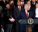 Donald Trump declara emergencia nacional en el área de la salud por crisis de drogas en EEUU. Foto: AP