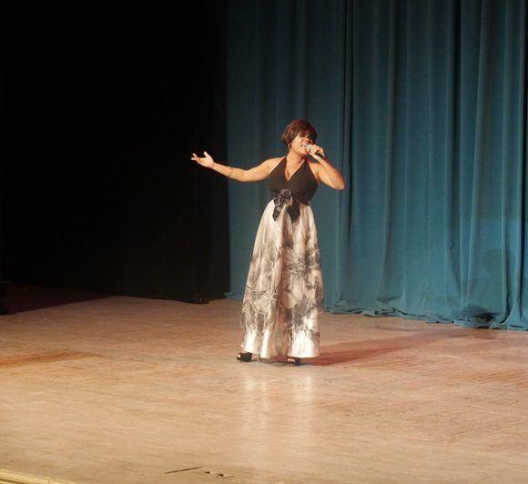 Vionaika Martínez derrochó fuerza sobre el escenario (Foto: Anniel Villa)
