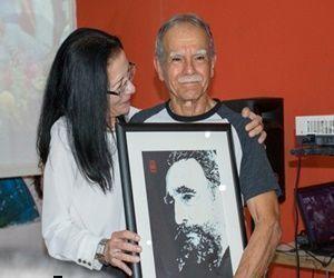 En la ocasión, el Espacio Audiovisual Tricontinental presentó materiales evocadores de Fidel