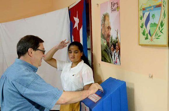 Canciller Bruno Rodríguez resalta carácter alternativo del proceso eleccionario en Cuba (+Video)