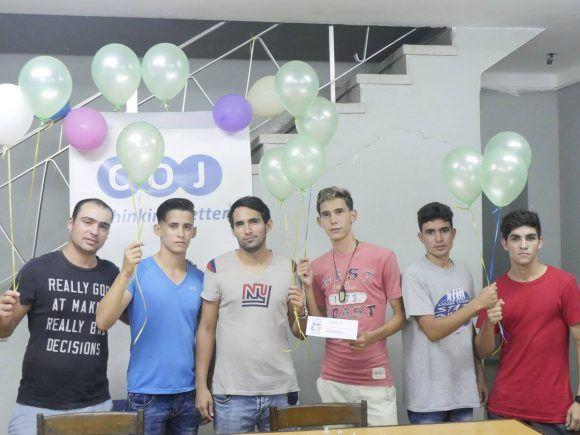 Los ganadores del torneo
