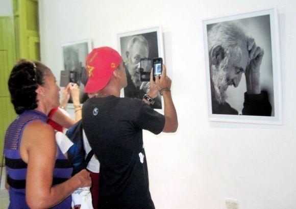 Pueblo santiaguero presente en la expo.  Foto: Miguel Ángel Gaínza