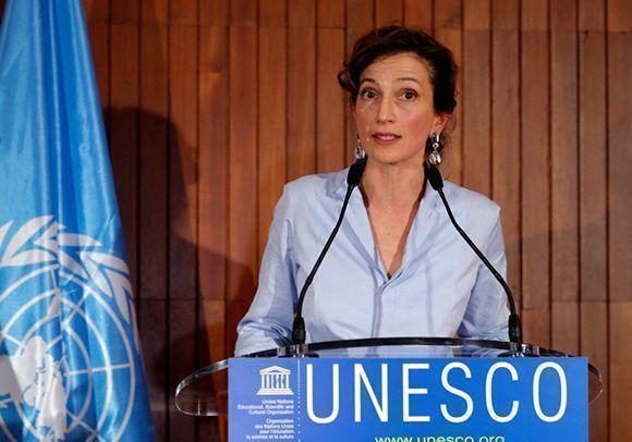 La francesa Audrey Azoulay asume como directora general de la UNESCO. Foto: UNESCO.
