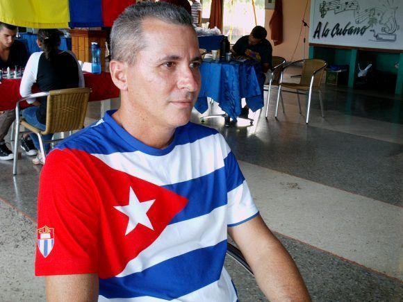 Carlos Rivero, comisionado nacional de ajedrez. Foto: Rogmary García/ Cubadebate.