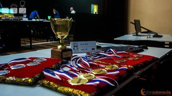 Cada equipo lucha por conquistar estas medallas (Foto: Ricardo Monterrey, Telecubanacán