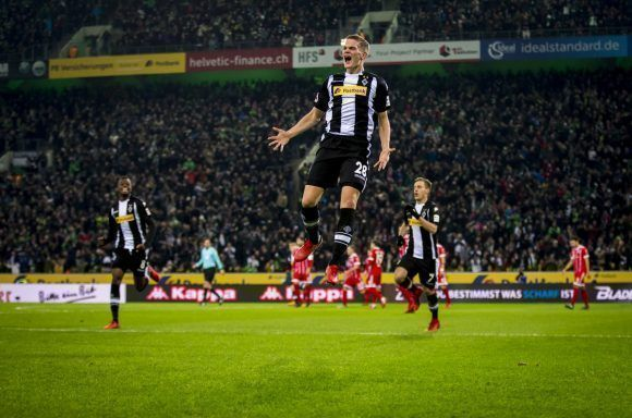 El BMG hizo posible la primera derrota de Heynckes al frente del Bayern en su nueva etapa. Foto: @borussia_en.