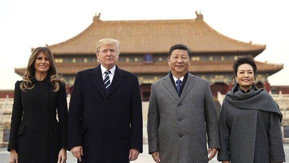 """Gira de Trump por Asia reforzó el carácter belicista de un EE.UU. """"fuerte y orgulloso"""""""