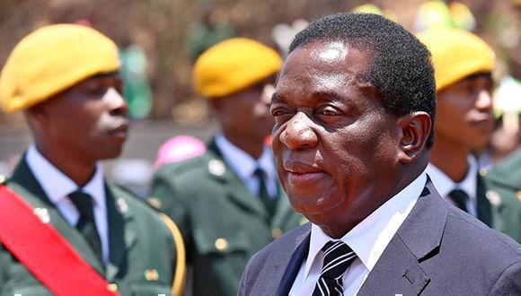 Emmerson Mnangagwa tomará posesión de la presidencia de Zimbabue el próximo viernes. Foto: EFE / Archivo
