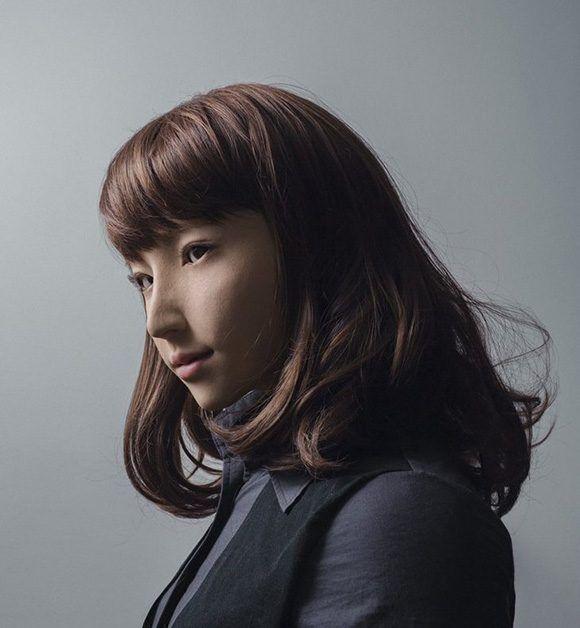 """El retrato de la androide """"Erica"""" ganó el tercer premio del Taylor Wessing Photographic Portrait Prize. Foto: Maija Tammi"""