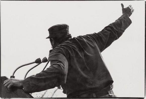 Fidel en 1959. Foto: Lee Lockwood