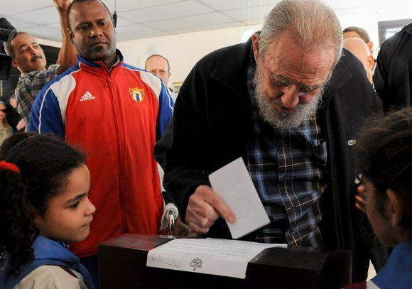 El último voto de Fidel