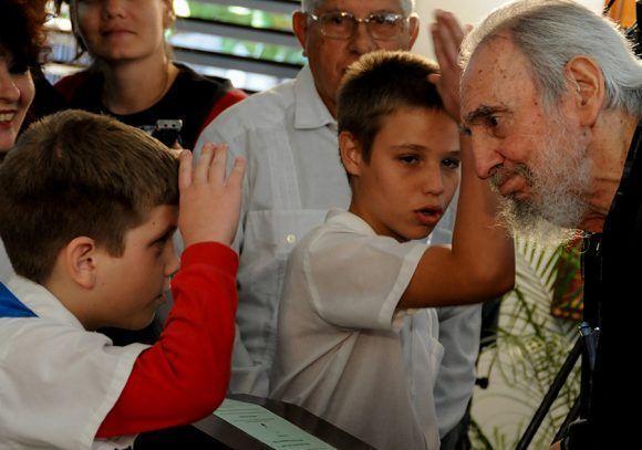 ¡Votó Fidel! Foto: Ismael Francisco/ Cubadebate.