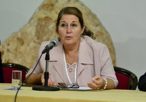 La vicepresidenta del INDER, Galdys Bécquer, resaltó. Roberto Garaicoa/ Cubadebate.