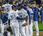 Los Dodgers celebran su victoria en el sexto juego de la Serie Mundial. Foto: Gina Ferazzi/ Los Angeles Times.
