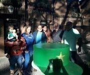 Foto tomada del perfil en Facebook del embajador cubano en Argentina.