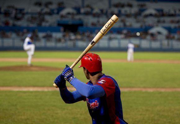 Guillermo Avilés de lo mejor de la ofensiva de Granma. Foto: Jennifer Romero/ Cubadebate.