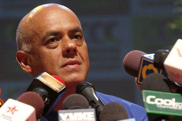 El ministro de Comunicación e Información en Venezuela, Jorge Rodríguez. Foto: Noticias Al Día.