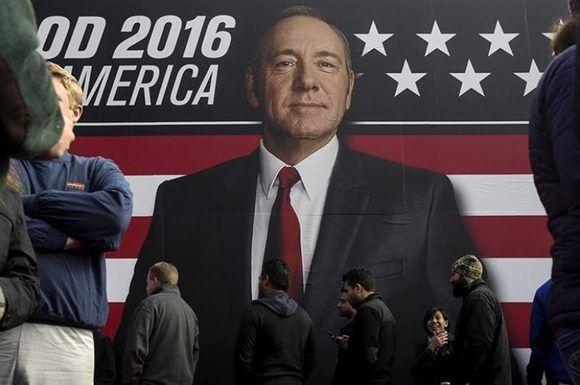 La producción de House of Cards está detenido por el momento debido al escándalo en el que se ha visto envuelto su protagonista. Foto: Reuters.