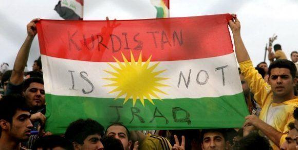 Kurdos manifiestan su deseos de no seguir bajo los dominios de la administración iraquí. Foto tomada de Tercera Información.