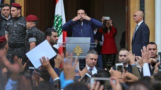 El Líbano vivió un sofocón político por la renuncia del primer ministro Saad Hariri. Foto: RT