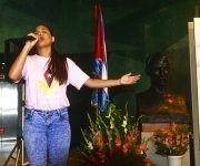 Lanzamiento del Libro Ahi viene Fidel. Foto: Roberto Garaicoa Martinez / Cubadebate