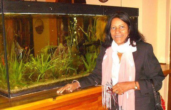 Margarita McPherson, viceministra de Educación de Cuba. Foto: Margarita Mc Pherson Sayu/ Facebook.