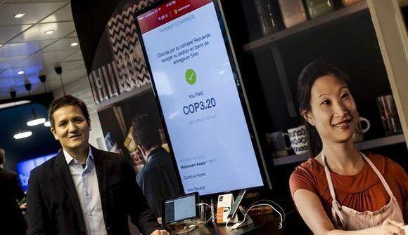 Mastercard lanzó en febrero de este año en México su servicio de pago digita. Foto: EFE / Archivo