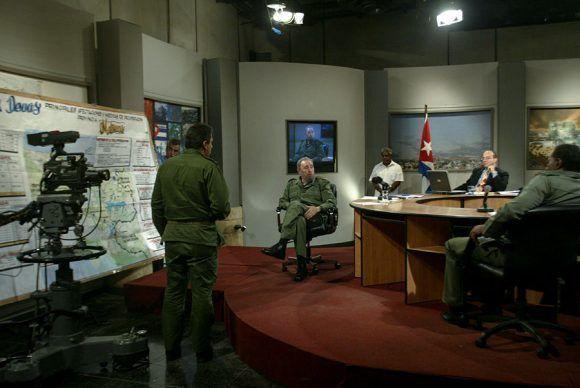 En Mesa sobre huracanes. Foto: Ismael Francisco / Cubadebate