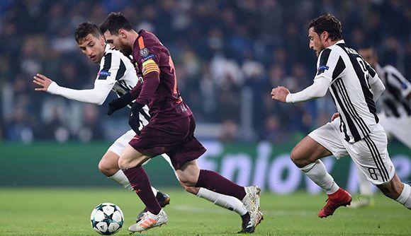 Messi comenzó en el banquillo, pero ni siquiera cuando saló al terreno de juego, el FC Barcelona mejoró su juego. Foto: AFP.