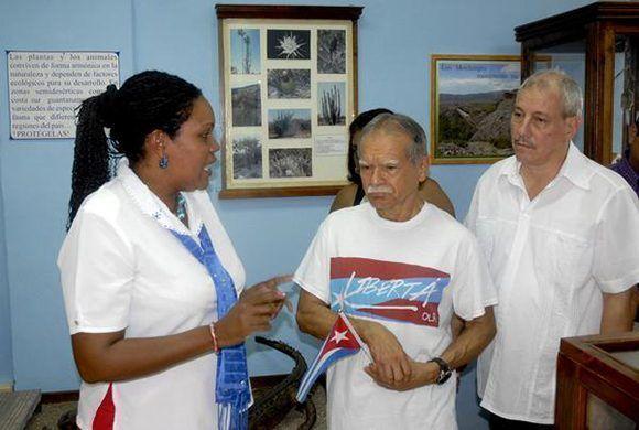 """Oscar López en Guantánamo: """"Cuba ha hecho más por el mundo que las grandes potencias"""""""