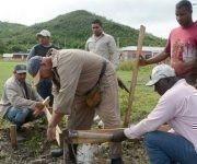 CUBA- COMPRUEBA GENERAL QUINTAS SOLÁ LABORES RECUPERATIVAS EN PUNTA ALEGRE