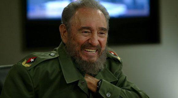 Fidel Castro durante una Mesa Redonda. Foto: Ismael Francisco/ Cubadebate.