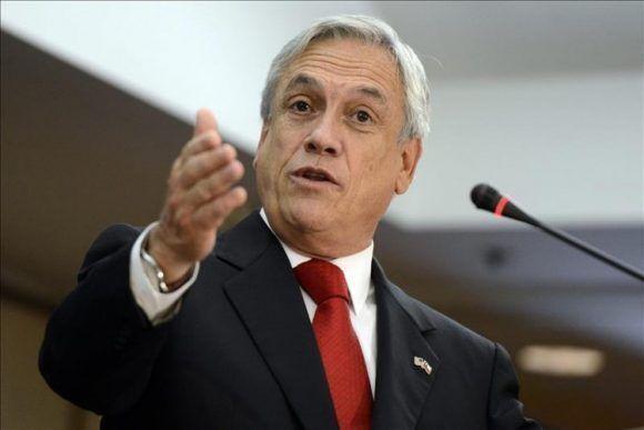 Sebastián Piñera. Foto tomada de El Ciudadano.