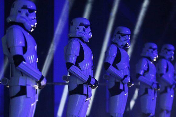La saga de Star Wars es una de las creaciones hollywoodenses con más impacto internacional. Foto: Reuters.