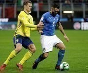 Italia dominó el partido de vuelta en Milán, pero los suecos mantuvieron su arco a cero y estarán en el Mundial de Rusia-2018. Foto: Getty Images.
