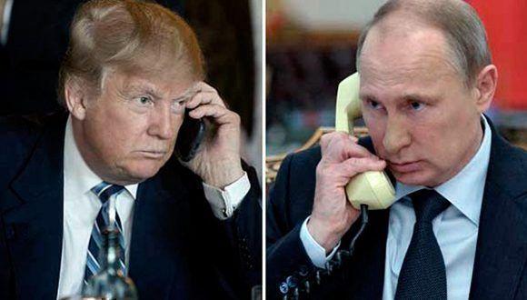 Putin y Assad discuten el futuro político de Siria