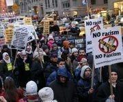 Protestas contra la administración Trump-. Foto: Hispan TV.