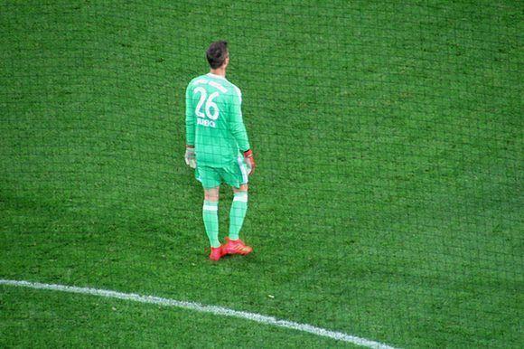 Ulreich detuvo casi todos los remates de sus rivales. Foto del autor.