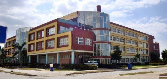 La Universidad de Ciencias Informáticas.