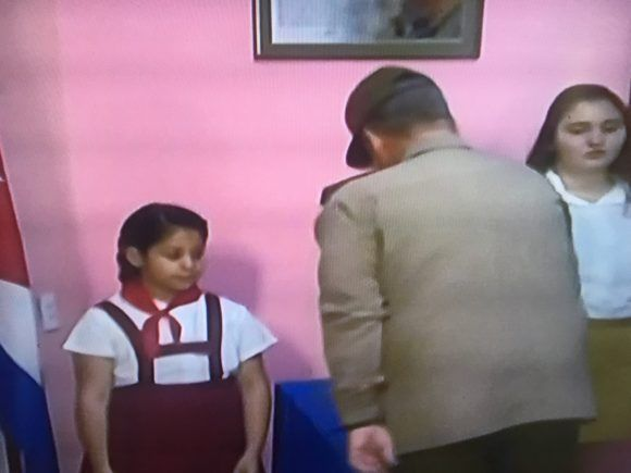 Foto tomada de la TV
