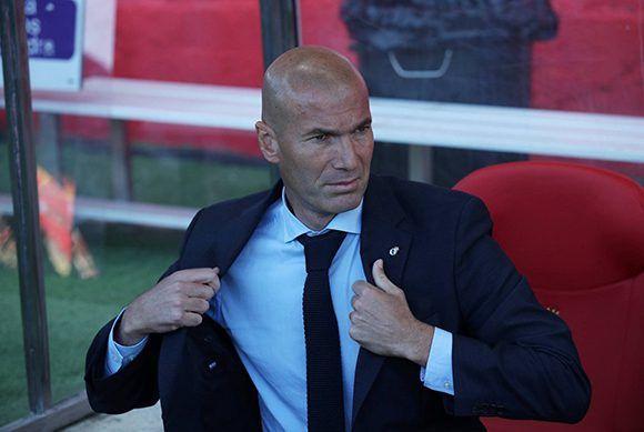 El técnico del Real Madrid, durante la derrota 2-1 ante el Girnoa en el estadio Montilivi. Foto: Reuters.