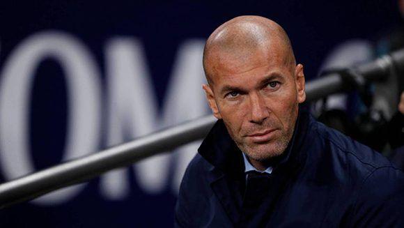 Zidane durante la derrota ante el Tottenham en Wembley. Foto: Reuters.