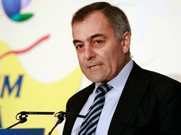 El español Alberto Navarro, embajador de la UE en Cuba. Foto: EFE.