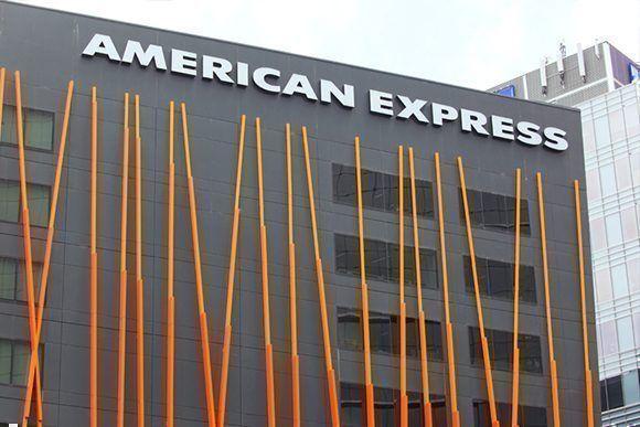 American Express, empresa multada por el Departamento del Tesoro.
