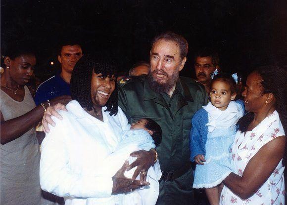 """Fidel en cada visita insistía en una idea: """"Traten de salvarla porque ella representa mucho para Cuba y para mí"""". Foto: Cortesía Ana Fidelia Quirot"""