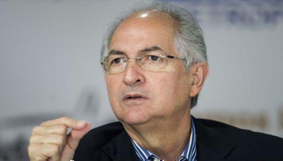 Antonio Ledezma. Foto: EFE.