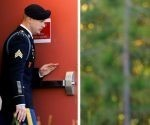 Bowe Bergdahl sale del juzgado en Carolina del Norte. Foto: Reuters.