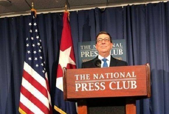Canciller Bruno Rodríguez intercambió con cubanos residentes en EEUU